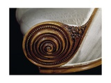 Spiral Motif, Detail from Art Deco Style Armchair, Ca 1913 Giclee Print by Paul Iribe