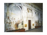 Afternoon Tea and Concert Giclee Print by Giovanni Antonio Fasolo
