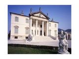 Facade of Villa Cordellina-Lombardi, 1760 Giclee Print by Giorgio Massari