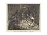 Burial of the Murdered Sons of Edward IV in the Tower Giclee Print by John Cross