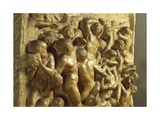 Detail of Battle of Lapiths Against Centaurs, 1490-1492 Giclee Print by  Michelangelo Buonarroti