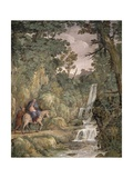 Flight into Egypt, 1621-1630 Giclee Print by Pietro da Cortona