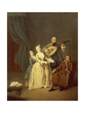 The Concerto or the Family in Concert, 1752 Giclee Print by Pietro Longhi