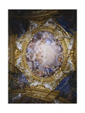Frescoes from Vault of Hall of Apollo Giclee Print by Pietro da Cortona