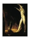 Satan Calling to Beelzebub, 1802 Giclee Print by Henry Fuseli