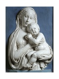 Madonna and Child, known as Madonna of Apple Giclee Print by Luca Della Robbia