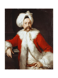 Portrait of a Gentleman Standing, Half-Length, in Oriental Costume Giclee Print by Andrea Soldi
