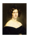 Portrait of Countess Luigia Douglas Scotti D'Adda Giclee Print by Francesco Hayez
