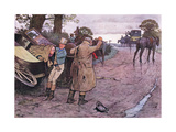 "Love to Tuppy, Won't You Get Up Behind-""Drive on Boys"" Replied Jingle Giclee Print by Cecil Aldin"
