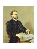 Portrait of Lawyer Claudio Comotto, 1865 Giclee Print by Giovanni Boldini