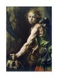 David with Goliath's Head, 1623-1625 Giclee Print by Tanzio da Varallo