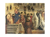 St Mark Preaching in Alexandria, Egypt Giclee Print by Gentile Bellini