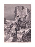 Procession of the Crusaders Round the Walls of Jerusalem Ad 1097 Giclee Print by Francois Edouard Zier