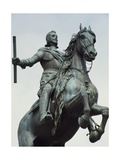 Equestrian Statue from the Monument to Philip IV Giclee Print by Pietro Tacca