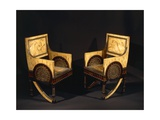 Art Nouveau Style Armchairs, Ca 1902 Giclee Print by Carlo Bugatti