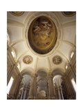 Vault of the Staircase of Honor Giclée-Druck von Luigi Vanvitelli