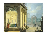 Hours of Day, Night, 1753-1755 Giclee Print by Giuseppe Zocchi