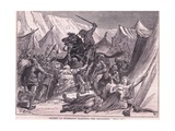 Robert of Normandy Rallying the Crusad Ers Ad 1097 Giclee Print by Francois Edouard Zier