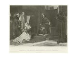Baldwin of the Hatchet Administering Justice in Flanders Giclee Print by Juliaan De Vriendt