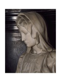 The Virgin, Detail from Madonna and Child Giclee Print by  Michelangelo Buonarroti
