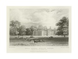Bell House, Aveley, Essex, Seat of Sir T B Lennard, Baronet Giclee Print by William Henry Bartlett