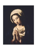 The Virgin Giclee Print by  Giovanni Battista Salvi da Sassoferrato