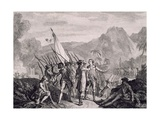 French Capture of Tobago, 1781 Giclee Print by Francois Godefroy
