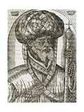 Abyssinian Priest, from Universal Cosmology Giclee Print by Andre Thevet