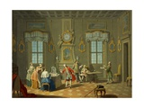 Hours of Day, Morning, 1753-1755 Giclee Print by Giuseppe Zocchi