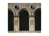 Side of Malatesta Temple Giclee Print by Leon Battista Alberti