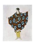Costume Design for Ravel, from Daphnis and Chloe, C.1912 Giclée-Druck von Leon Bakst