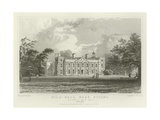 Hill-Hall, Near Epping, the Seat of Sir William Smyth, Essex Giclee Print by William Henry Bartlett