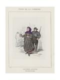 Citoyenne Queteuse, Pour Les Blesses De La Commune Giclee Print by Charles Albert d'Arnoux Bertall