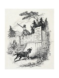 Pickwick Club, Illustration for Novel Giclee Print by Charles Dickens