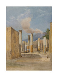 Pompeii: 'House of Pansa', Via Delle Terme, 1843/44 Giclee Print by Arthur Glennie