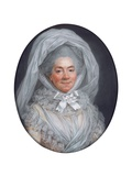 Portrait of a Lady, known as Madame Poisson, Mother of Madame De Pompadour Giclee Print by Adelaide Labille-Guiard