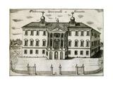Villa Giovanelli in Noventa, 1697 Giclee Print by Vincenzo Coronelli