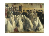 St Mark Preaching in Alexandria, Egypt, 1504-1507 Giclée-tryk af Gentile Bellini