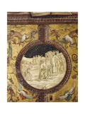 Dante and Virgil in Hell, Scene from Divine Comedy Giclee Print by Dante Alighieri