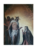 Appearance of Risen Christ to Virgin, 1552-1556 Giclee Print by  Titian (Tiziano Vecelli)