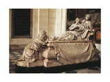 Tomb of Cardinal Richelieu Giclee Print by Francois Girardon