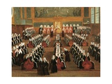 Board of Pregadi in Ducal Palace Giclee Print by Gabriele Bella