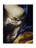 The Asp, Detail from the Death of Cleopatra Giclee Print by Antoine Rivalz
