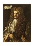Portrait of Bartolomeo Di Capua, 1710 Giclée-tryk af Francesco Solimena