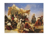 Egypt Expedition under Bonaparte's Command Giclee Print by Leon Cogniet