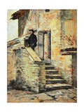 House of Don Giovanni Verita', 1855 Giclee Print by Silvestro Lega