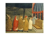 Predella of Miracle of Profaned Host Giclee Print by Paolo Uccello