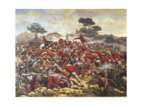 Giuseppe Garibaldi at the Battle of Calatafimi, 15th May 1860 Giclee Print by Remigio Legat