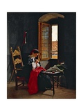 April 26 1859 in Florence, 1861 Giclee Print by Odoardo Borrani