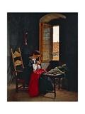 April 26 1859 in Florence, 1861 Giclee Print by Odoardo Borrani